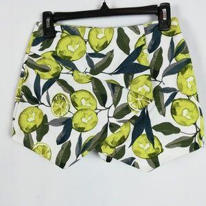 TOPSHOP Lemon Skort 4 Citrus Print Envelope Front